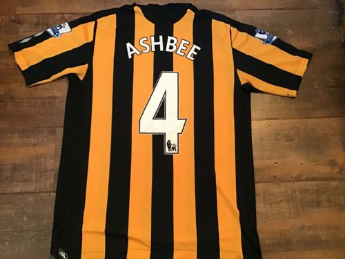 2008 2009 Hull City Ashbee Home Football Shirt Large